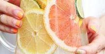 Infused Water & Lemonades