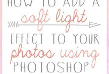 Photoshop, Blog and Social Media