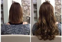 Hair weave by Nastassia Make-up & Hair / Haarverlengingen door middel van hair weave