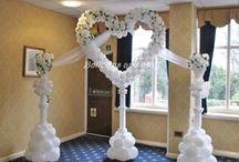 Wedding Balloons / Balloon decoration for wedding celebrations
