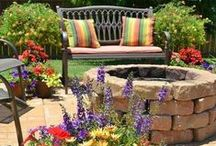 ✿ Outdoor Oasis ✿ / Cool Sitting Areas,Porches And Moments in Veranda!