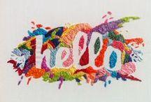 ✿ Embroidery / Appliqué ✿