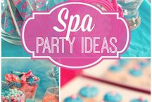 Spa Themed Party