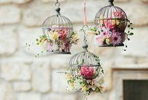 Birdcage and lanterns! / Gaiolas e lanternas na decoração!