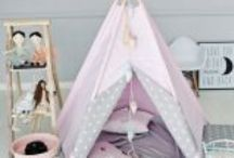 kids room / LittleNOMAD. Teepees, playtents outdoors