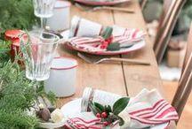 Christmas table / Mesas de Natal