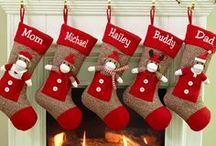 Christmas, felt, sewing... / Enfeites de Natal de feltro, costurinhas...
