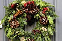 Christmas wreath / Guirlandas de Natal
