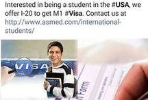 Come to USA and Study IT classes / ASM can provides you I-20 so you get your M1 Visa and Study Cisco ,Microsoft  and Comptia certification.Please check out  http://www.asmed.com/international-students/