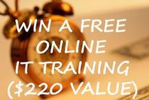 ASM contest / GIVEAWAY  WIN A FREE ONLINE  IT TRAINING ($220 VALUE)