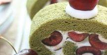 Biskuitrolle Roll Cake Gâteau roulé * Rezepte Recipes Recettes