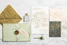 Wedding Invitations, Menus, and Other Paper Goods / by Swooned