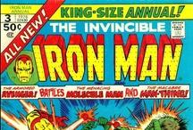 Comics-Iron Man / by John Kottenbrook