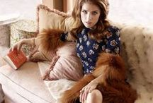 Celebs in Fur / Celebs in the latest fur fashion!