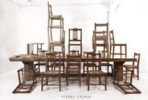 - THE SECRET LIFE OF FURNITURE - / Pierre Cronje's furniture seen it its natural environment