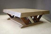 - COFFEE TABLES - / A selection of Pierre Cronje's coffee tables.