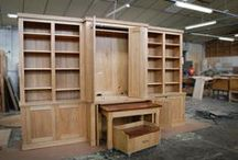 - CUPBOARDS, CABINETS & BOOKCASES - / A selection of Pierre Cronje's custom cupboards, display units and shelves