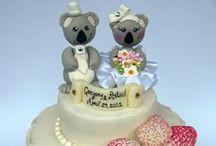 Wedding cake topper - animals / by Daisy Machado