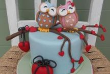 Cake inspiration and sweet / by jeanette bro