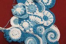 11 Crochet free forms (Jeanette)