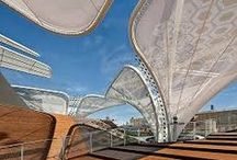 Carl Stahl Czech Republic  / Stainless steel & Membrane Architecture