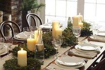 Dekoracje stołu na Boże Narodzenie