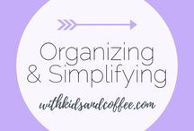 Organizing and Simplifying