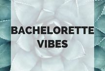 Bachelorette Vibes / All things bachelorette! From party ideas, themes, and decor to cute tees and tanks for your bridal party to celebrate your engagement and wedding.