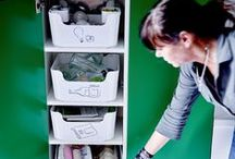 Organization / I love to read about cleaning and how to organise stuff!