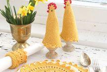 Pasqua ~ Easter / Bellissimi modelli da preparare per Pasqua!