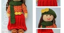 Autumn Doll Knitting Pattern / http://www.edithgracedesigns.com