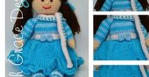 Winter Doll Knitting Pattern / http://www.edithgracedesigns.com