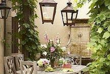 Odpočinek na zahradě