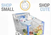 Cute Babies in Binxy / See how moms take our Binxy Baby shopping hammock for a spin in the grocery store. Grocery shopping with babies made fun and easy.