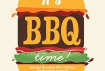 BBQ Party Ideas / Barbecue Invitations and Ideas #bbq #party #idea #Invitation #free #template