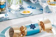 Hanukkah Party Ideas / Hanukkah party ideas & Hanukkah invitations. #Hanukkah #Party #Invitations #Dinner #DIY #Crafts #Kids #Decorations
