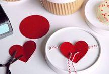 Valentine's Day / Valentine's day decor, party ideas and invitations! #Valentine's day #Party #Invitations #DIY #Crafts #Kids # Family #Dinner #Decorations