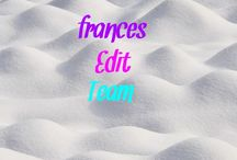 Frances Edit Team / I'm back! Happy holidays!