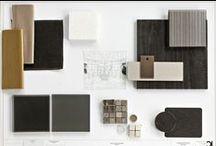 Material / Material combination & inspiration. Hélène & Olivier Lempereur #HOLempereur #material