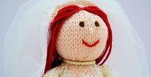 Bride Doll Knitting Pattern / Original knitting patterns - http://edithgrace.blogspot.co.uk/