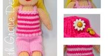 Summer Doll Knitting Pattern / http://www.edithgracedesigns.com