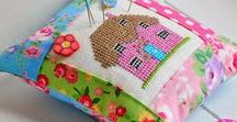 English Cottage Cross Stitch / http://www.edithgracedesigns.com