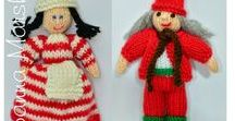Edith Grace Designs Knitting Patterns / http://www.edithgracedesigns.com   Doll Knitting Patterns, Cross Stitch Pattern & Needlepoint Patterns