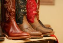 King Ranch Cowboy Boots / by King Ranch Saddle Shop