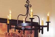 Ranch Style Lighting / Warm your home with this stylish line of lamps, sconces and lighting accessories by the King Ranch.  / by King Ranch Saddle Shop