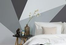 Design Wallpaper Murals / Add a contemporary feel to your home with these amazing wallpapers. From trendy ombre hues to bold geometric prints, find a wallpaper to revamp your interiors.