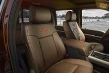 King Ranch Ford Trucks / Get around in style with the King Ranch Special Edition for Ford Trucks. / by King Ranch Saddle Shop