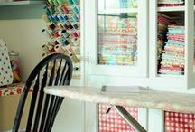 Craft & sewing Rooms / Ideas for craft rooms and sewing rooms