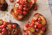 <Bruschetta> / I'm not hungry. But I'm bored. Therefore, I shall eat.