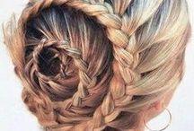 Kapsels / Wie wil niet haar haar op een leuke manier dragen? Dit is een bord boordevol knotten, vlechten en alles wat er tussenin zit!